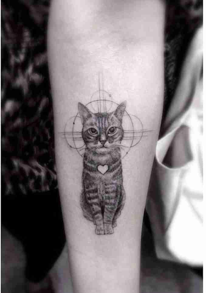 fotos de tatuagens de gatos 09