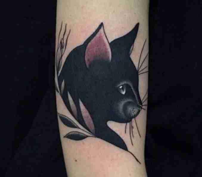 tatuagem de gatos 12