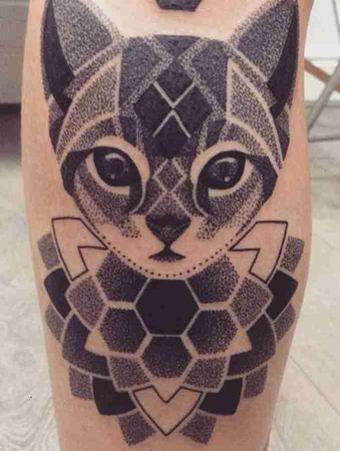 tatuagem de gatos 16