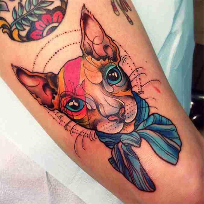 tatuagem de gatos 24