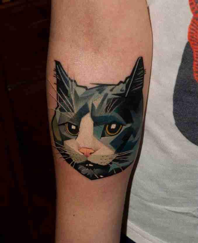 tatuagem de gatos 27