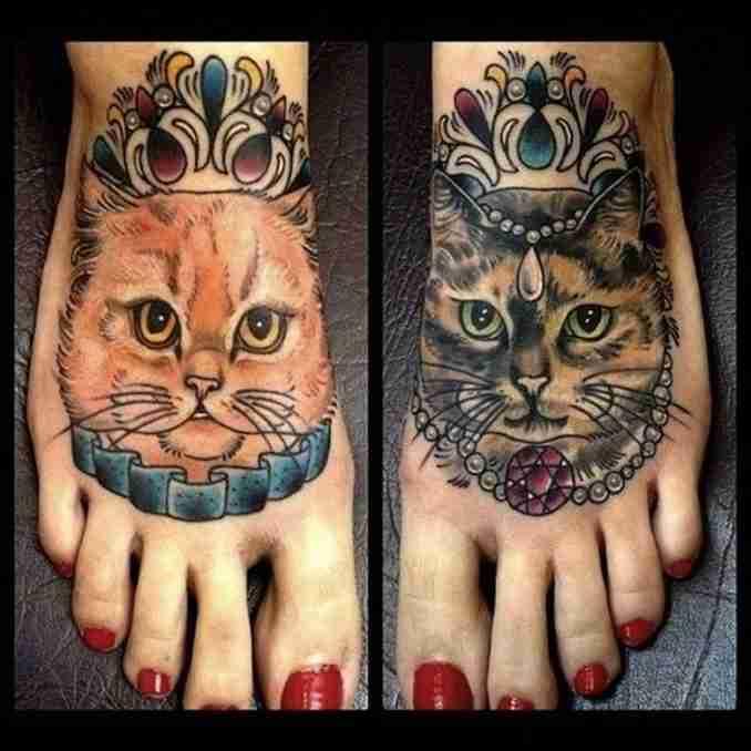 tatuagem de gatos 31