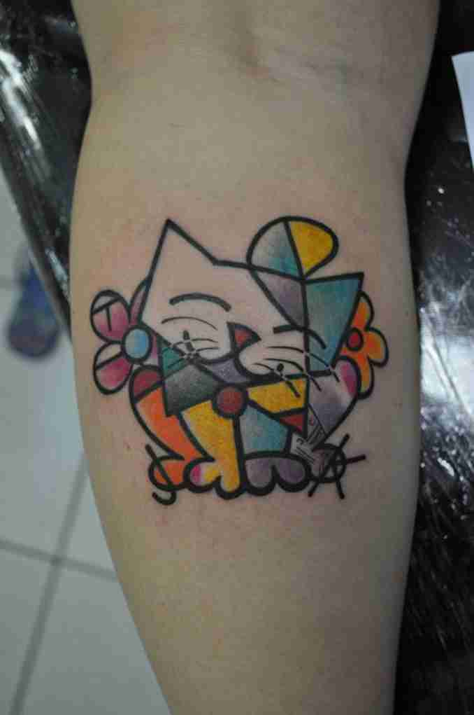 tatuagem de gatos 34