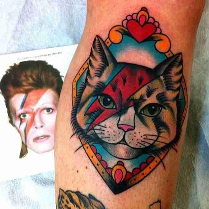 tatuagem de gatos 35