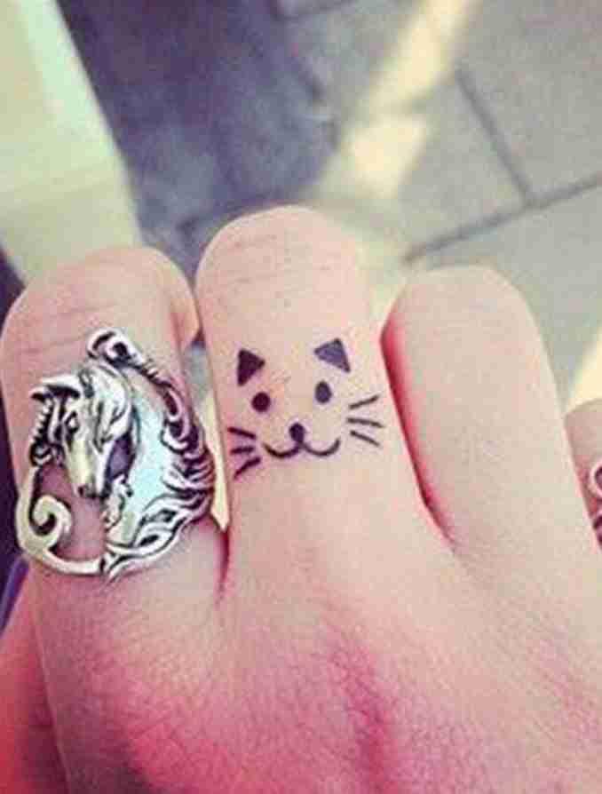 tatuagem de gatos 40