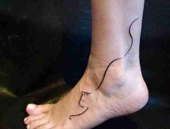 tatuagem de gatos 44