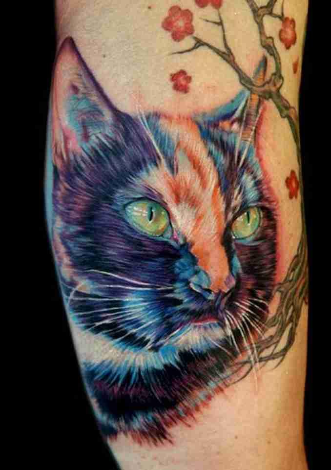 tatuagem de gatos 46
