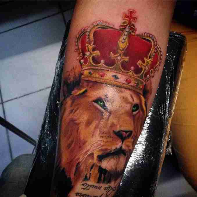 tatuagens de leão - 03