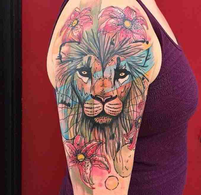 tatuagem de leão - 05