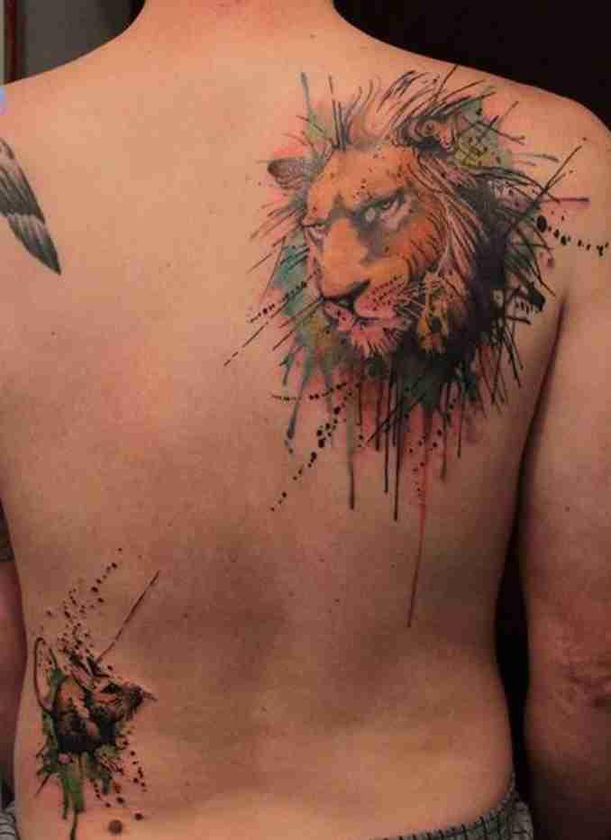 tatuagens de leão - 24