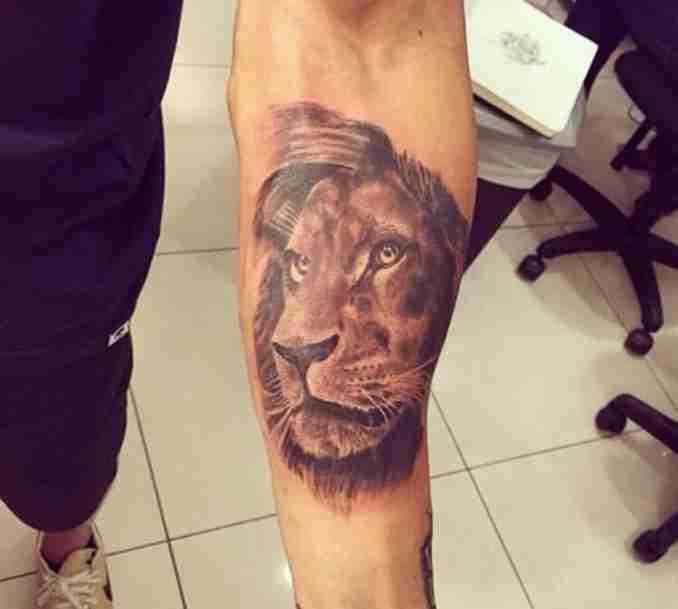 fotos de tatuagens leão - 43
