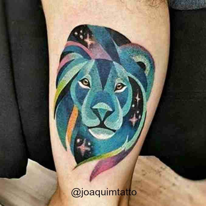 fotos de tatuagens leão - 44