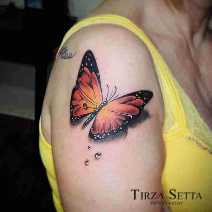 tatuagem com borboleta 33