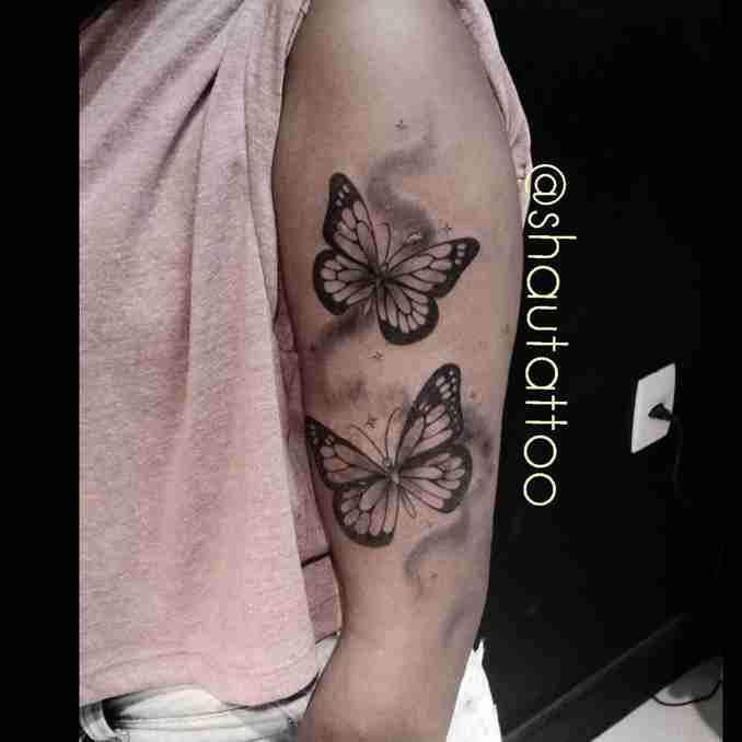 tatuagem com borboleta 37