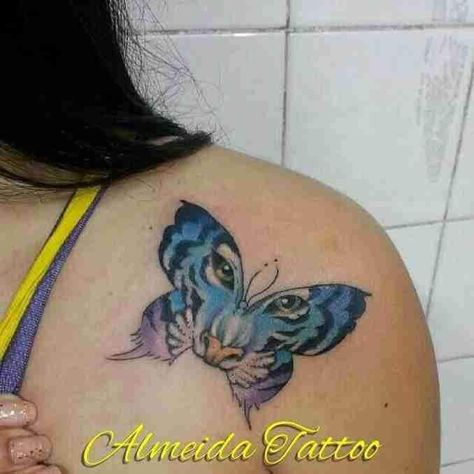 tatuagem com borboleta 38
