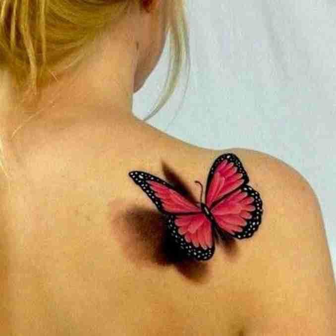 tatuagem com borboleta 49