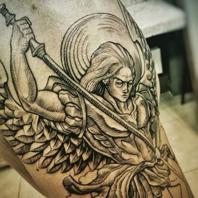 tatuagens com anjos 06