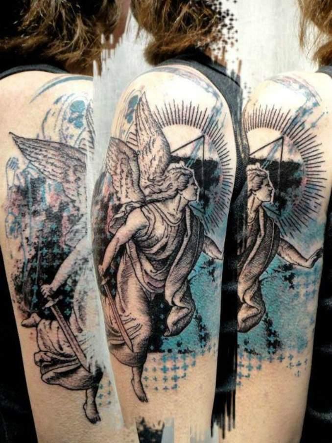 tatuagens com anjos 07
