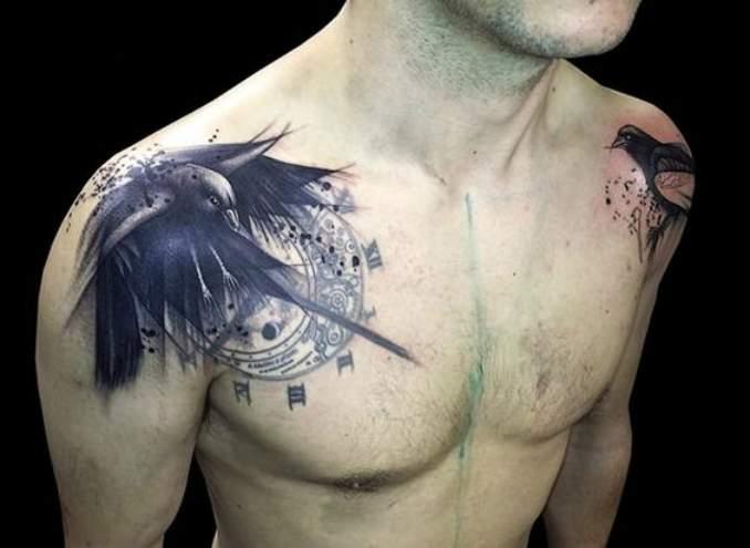 tatuagens de corvo 12