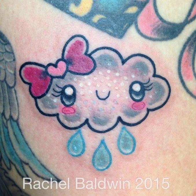 Tatuagens de nuvens 14