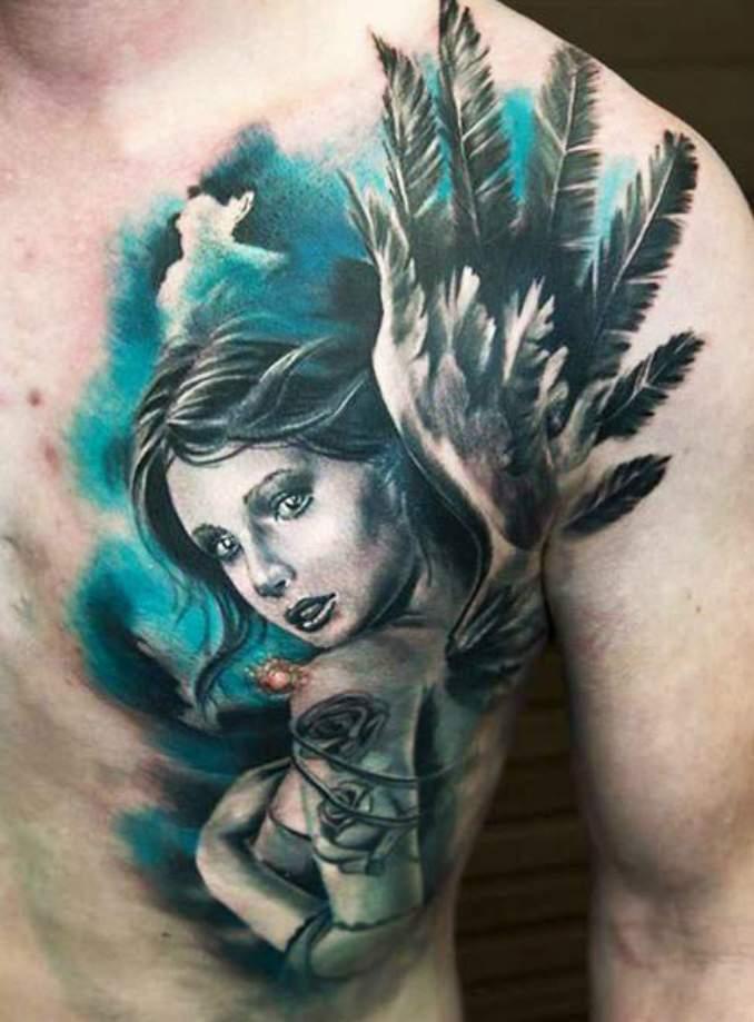 tatuagens com anjos 29