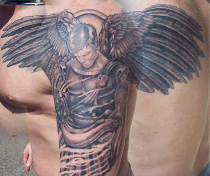 tatuagens com anjos 30