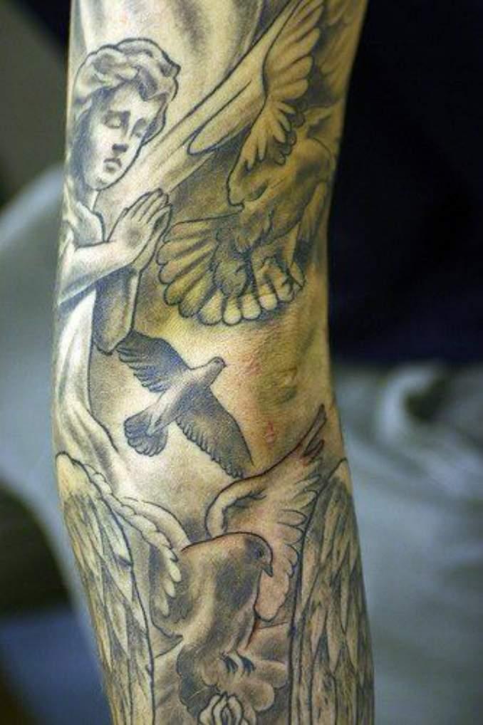 tatuagens com anjos 32