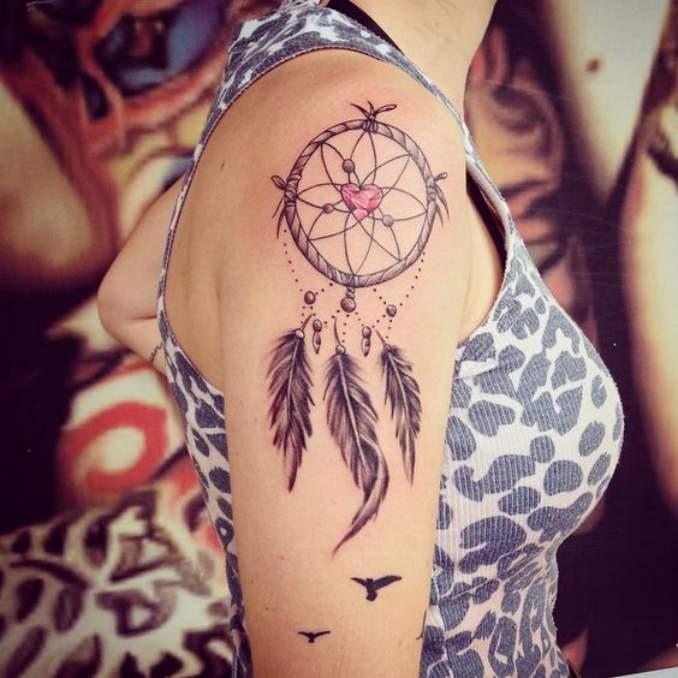 Tatuagem de filtro dos sonhos 05