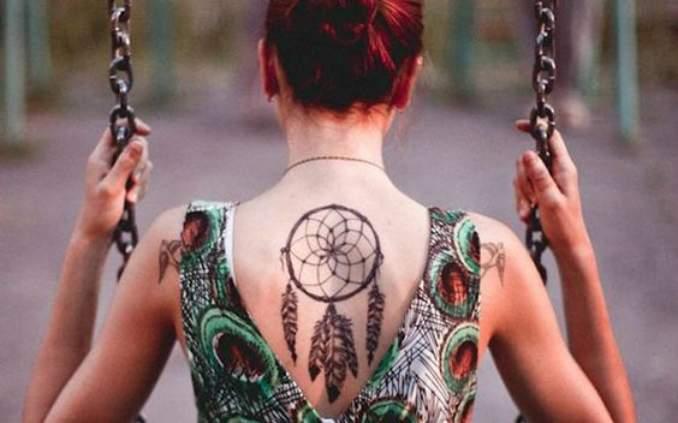 Tatuagem de filtro dos sonhos 06