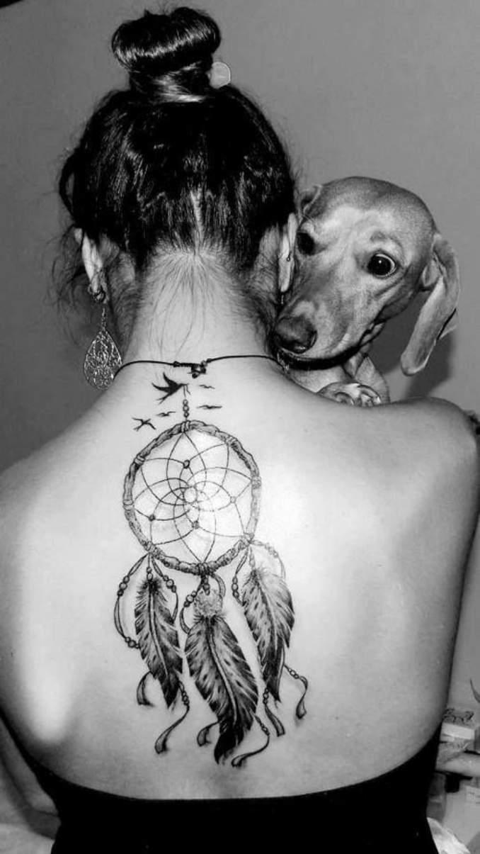 Tatuagem de filtro dos sonhos 07