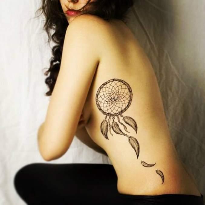 Tatuagem de filtro dos sonhos 11