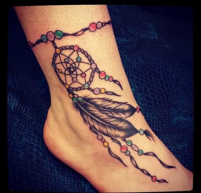 Tatuagem de filtro dos sonhos 14