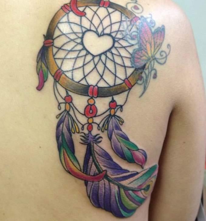 Tatuagem de filtro dos sonhos 17 trocar
