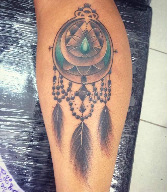 Tatuagem de filtro dos sonhos 23