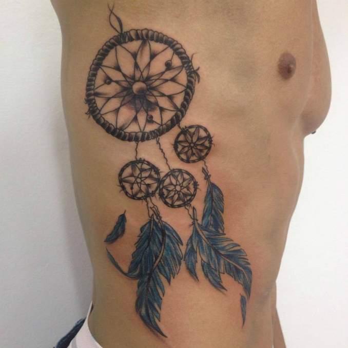 Tatuagem de filtro dos sonhos 25