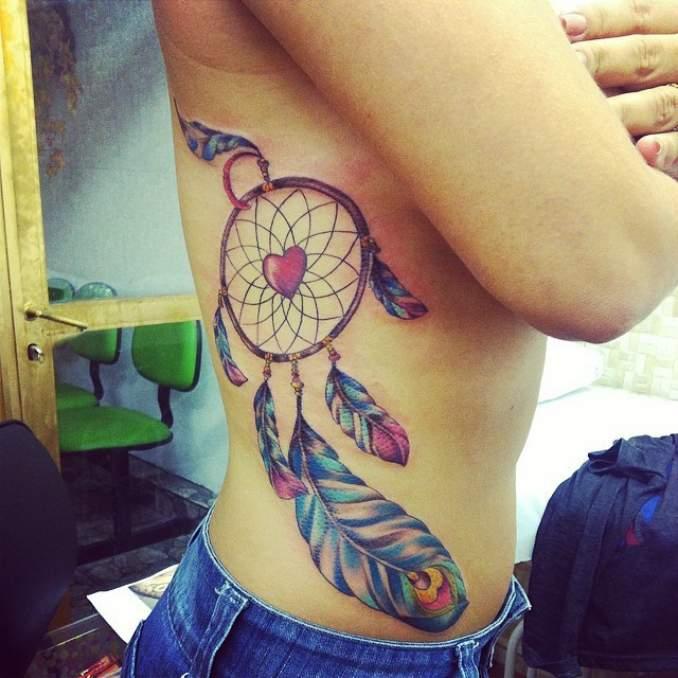 Tatuagem de filtro dos sonhos 29