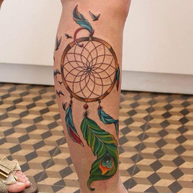 Tatuagem de filtro dos sonhos 31