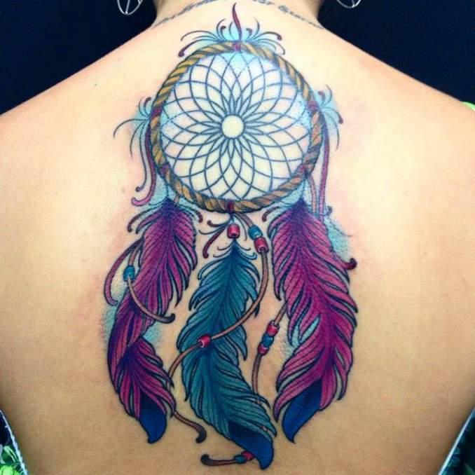 Tatuagem de filtro dos sonhos 32