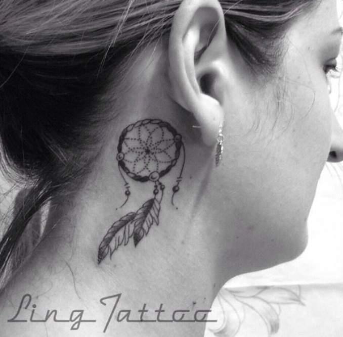 Tatuagem de filtro dos sonhos 35