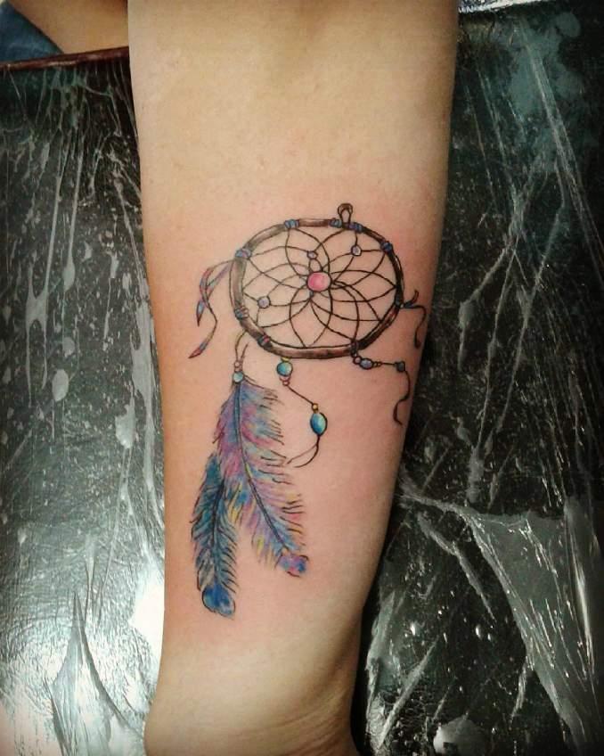 Tatuagem de filtro dos sonhos 39