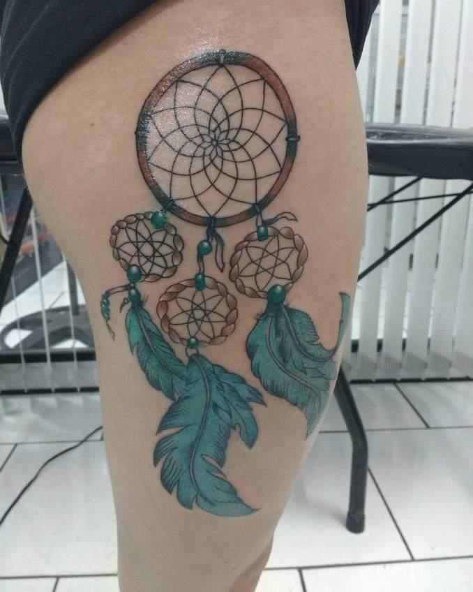 Tatuagem de filtro dos sonhos 48