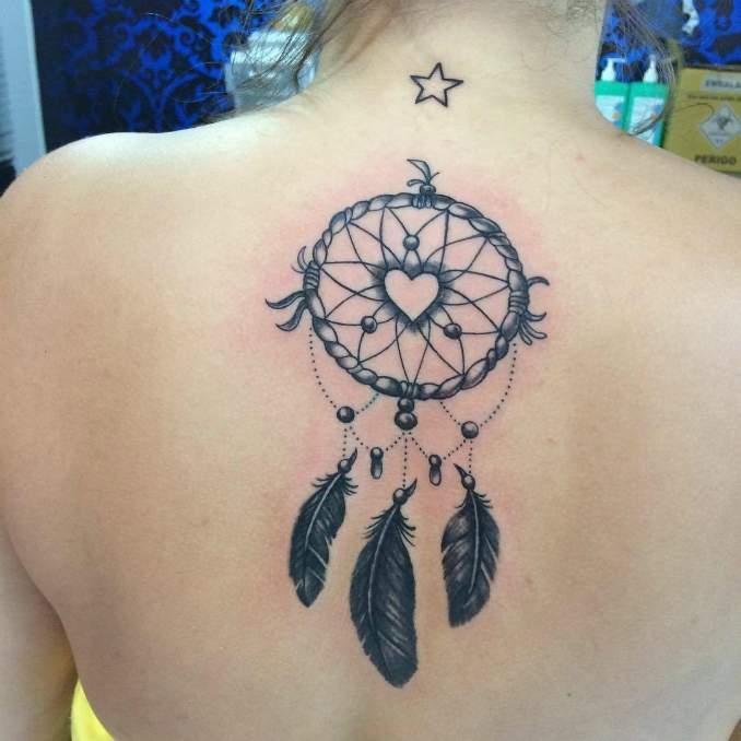 Tatuagem de filtro dos sonhos 49